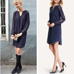 CAbi Harlequin Shift Dress Sz M ::XG22